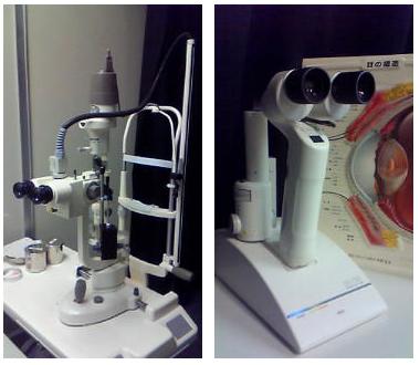 細隙灯顕微鏡(スリットランプマイクロスコープ)