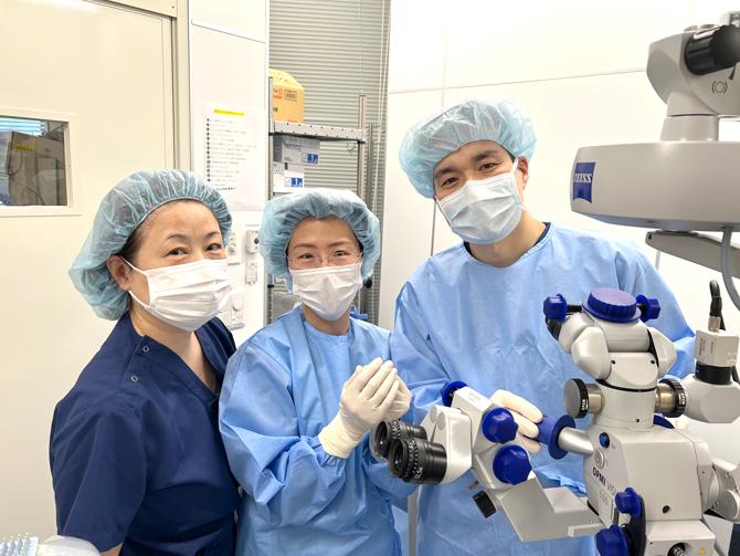 同医療法人新宿東口眼科医院 白内障手術スタッフ
