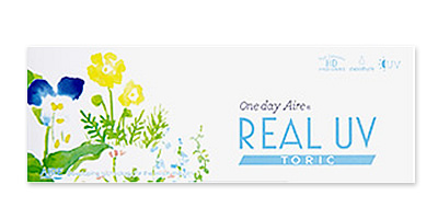 1day AIRE REAL UV toric