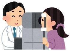 当院では、定期検診で医師が必ず眼底を診ています。