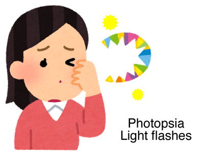 light flashes