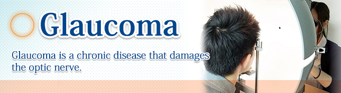 glaucoma/Glaucoma is a chronic disease that damages the optic nerve.