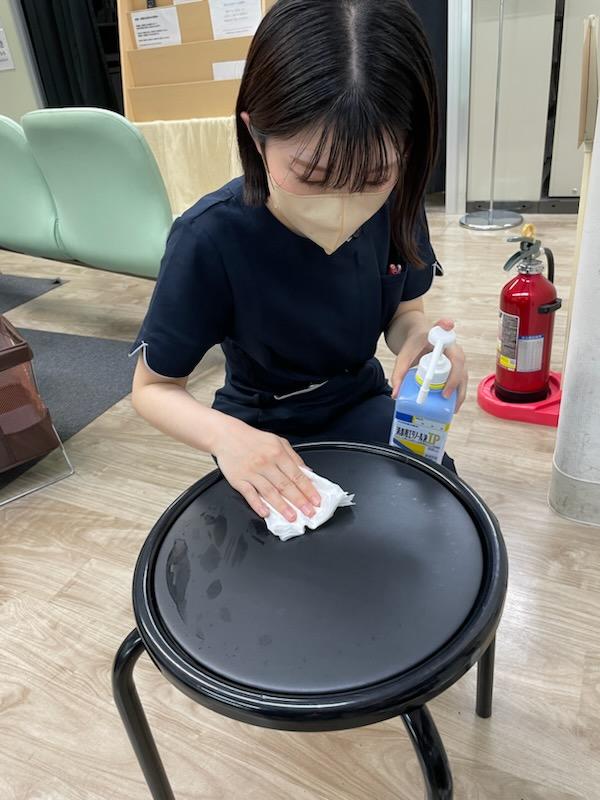 【消毒】検査椅子